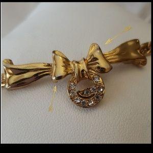 Givenchy Jewelry - Vintage Givenchy Paris New York GoldTone Bracelet